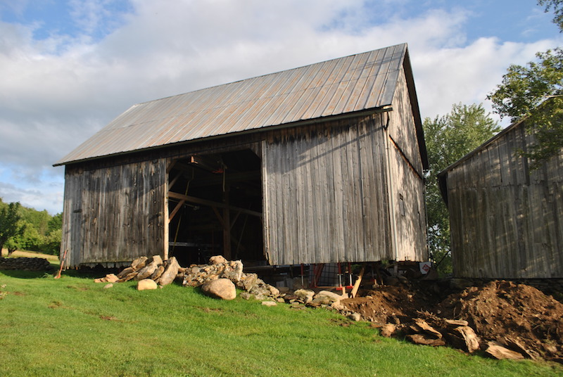 Restoration Puts the Middle Barn on Solid Footing « Vermont